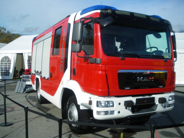 Congrès national des sapeurs-pompiers 2013 : quelques engins spéciaux.