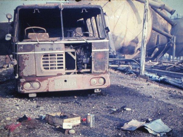 4 janvier 1966.......la catastrophe de la raffinerie de Feyzin.