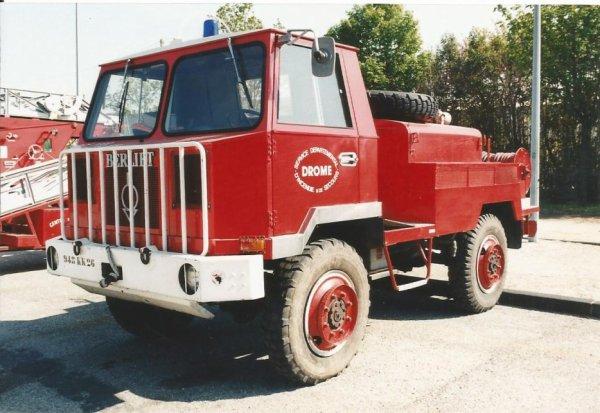 """Historique du CCF Berliet """"415"""""""