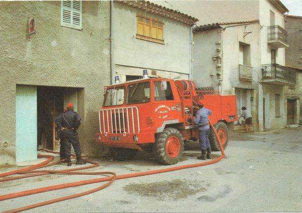 Historique de la lutte contre les feux de forêts.