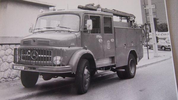 Retour arrière avec le premier FPT 4X4 Mercedes en service au BMP entre 1975 et 1985.