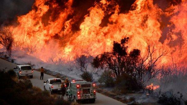 Feux de forêts en Californie.