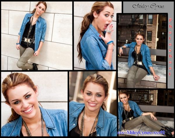 18 Juin 2010 Photoshoot =)Miley cyrus .