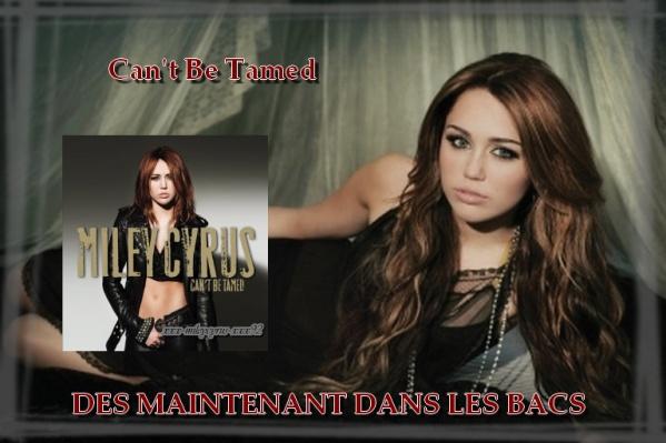21 Juin 2010 Can't Be Tamed dans les bacs !!!!!! =)Miley cyrus .