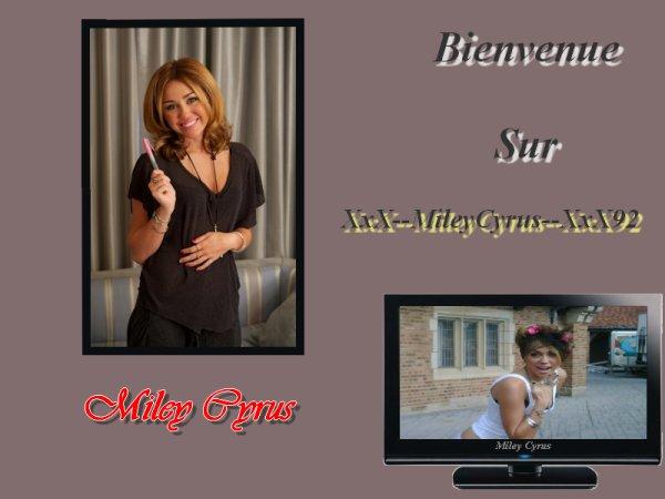 My Blog Bienvenue sur mon blog Bonne visite !Miley cyrus =)