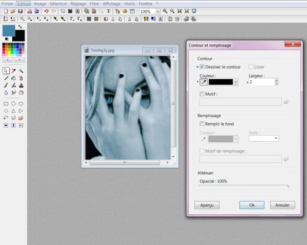 Comment faire un cadre pour une image