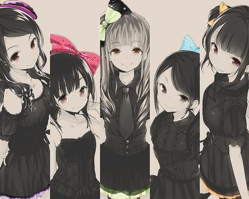 Les personnages.