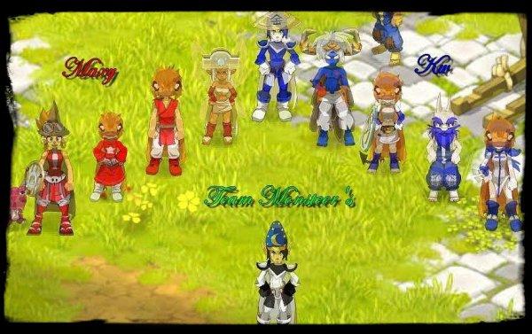 début de la Monsteer Team