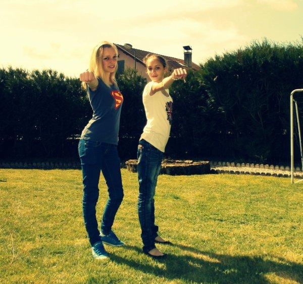 Moi & Claire ... ♥