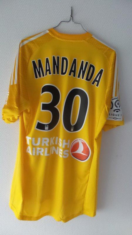 MAILLOT CHAMPIONNAT STEVE MANDANDA