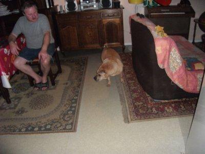 mon pére et mon chien madi