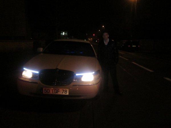 moi avec limousine