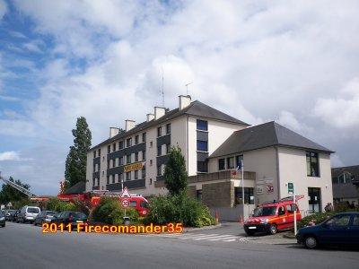 Sapeurs Pompiers d'Ille et Vilaine (CIS Vitré)