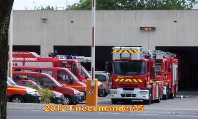Sapeurs Pompiers D'Ille et Vilaine ( CIS Rennes Le Blosne )