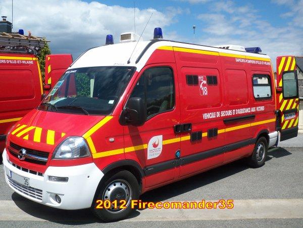 Sapeurs Pompiers d'Ille et Vilaine ( Portes ouvertes CIS Janzé )