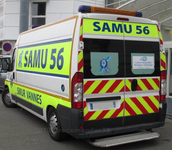 SAMU 56 / SMUR Vannes
