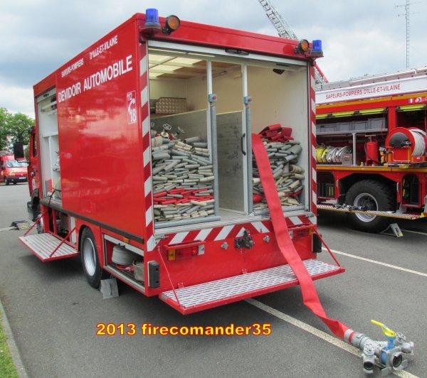 100 ans des Sapeurs Pompiers de Laillé