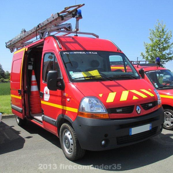 Portes Ouvertes des Sapeurs Pompiers de Montreuil sur Ille