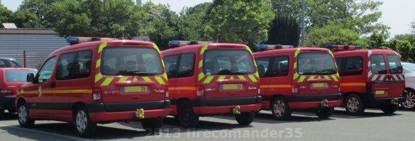 Dispositif de secours sapeurs pompiers pour le festival des vieilles Charrues