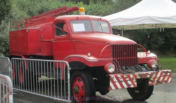 100 ans des sapeurs pompiers de Betton