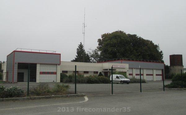 Sapeurs Pompiers d'Ille et Vilaine ( CIS  Saint-Brice-en-Coglès )