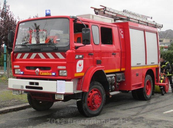 Portes Ouvertes des Sapeurs Pompiers de Saint-Georges-de-Réintembault