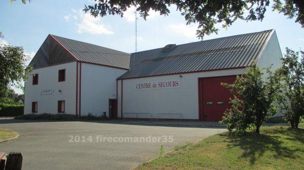 Sapeurs Pompiers d'Ile et Vilaine ( CIS Sens de Bretagne )