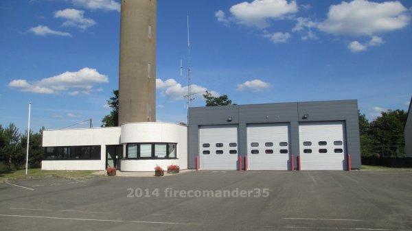 Sapeurs Pompiers d'Ile et Vilaine ( CPI Gahard )
