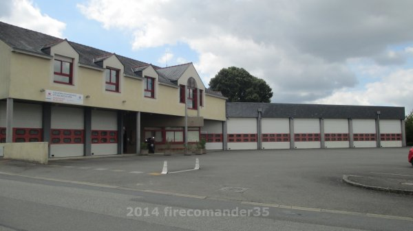 Sapeurs Pompiers d'Ile et Vilaine ( CIS Montfort-sur-Meu )