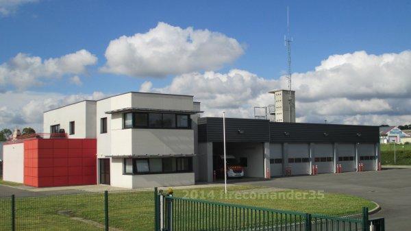 Sapeurs Pompiers d'Ile et Vilaine ( CIS Tinteniac )