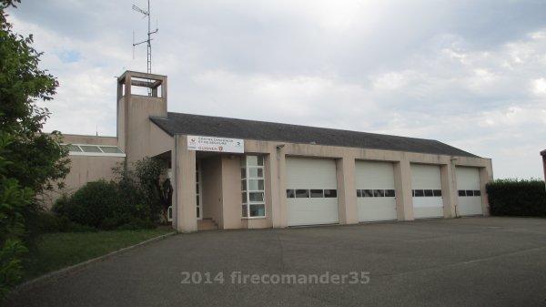 Sapeurs Pompiers D'Ille et Vilaine ( CIS Guignen )