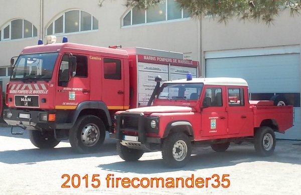 Bataillon de Marins Pompiers de Marseille ( CIS Frioul )