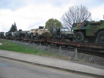 Un convoi militaire de la sncf !