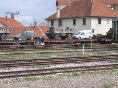 Convoi militaire sncf !