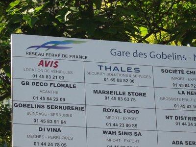Et voici un reportage sur la Gare des Gobelins !