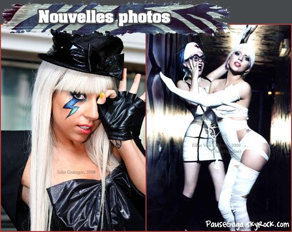 08.01 Nouvelles photos + Couvertures de Magazines