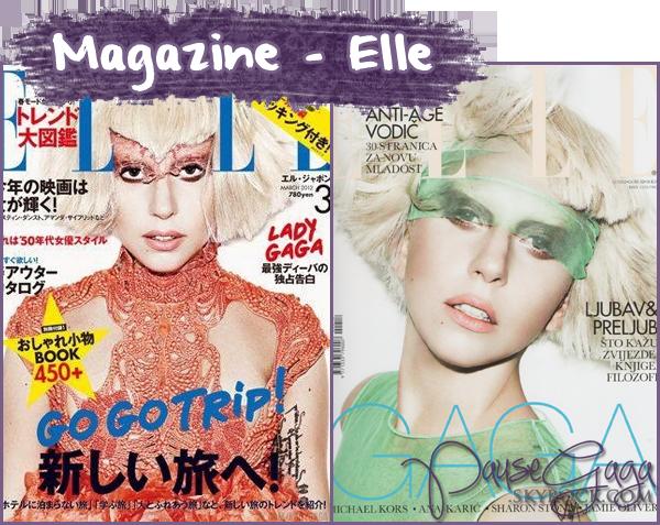 30.01 En couverture du magazine ''Elle'' + Candids - Los Angeles