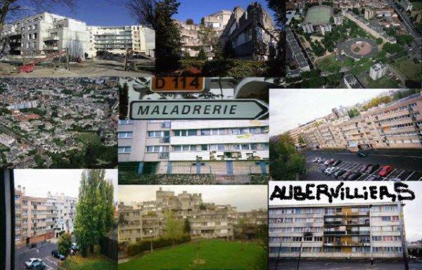 AUBERVILLIERS   MONFORT    LA MALADERIE  LES  800        CLASSE          en          ZFU