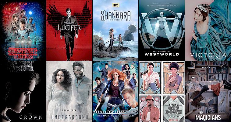 20/12/16 - Séries, Films & Albums 2016