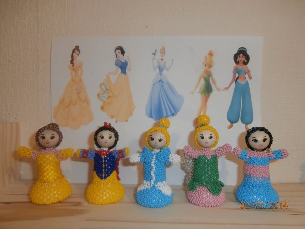 "Les ""mini princesses de titimag"""