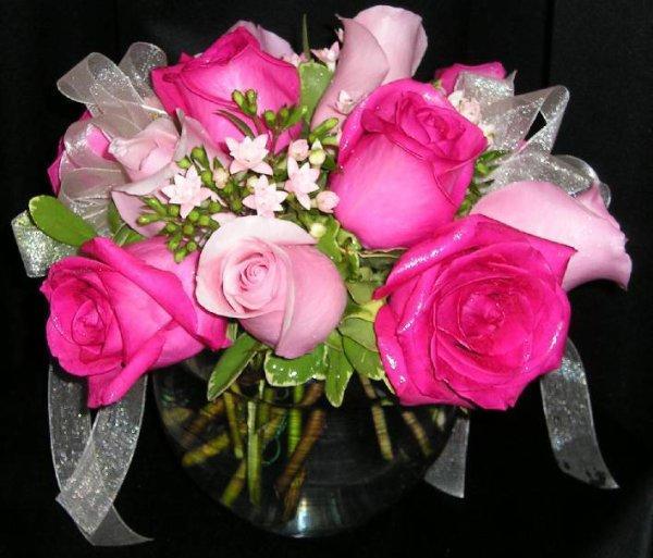 Un Bouquet De Fleurs Pour La Saint Hubert Nous Est Offert