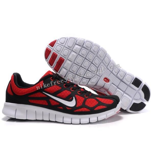 mens nike free run 3 shoes online shop red black white
