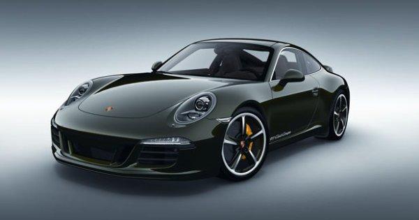 Club Coupé : une édition ultra limitée de la Porsche 911