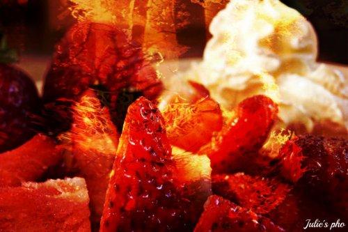 Fire strawberry