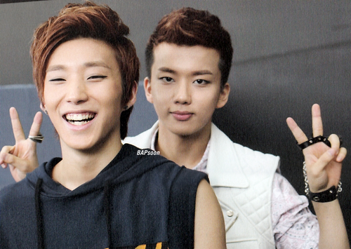 JongUp & Youngjae [B.A.P]