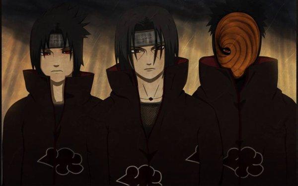 Sasuke,Itachi & Obito [Naruto Shippuden]