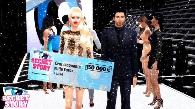 Lise remporte Secret Story Sims 2 !