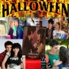 couple sur fond d'haloween