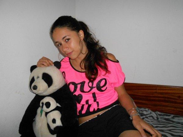 Mon panda :) <3