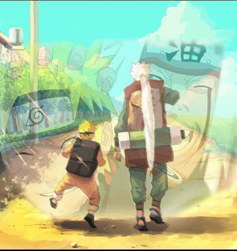 Que des beaux moments lors de l'entrainement de Naruto avec l'Ermite pas net (comme l'a surnommé Naruto ) ! <3